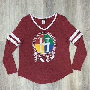 Harry Potter T-shirt Top Hogwarts School of Witch